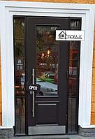 Двери входные со стеклом