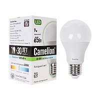 Светодиодная лампа Camelion LED9-A60/845/E27 (холодный свет)