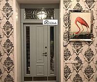 Двери со стеклопакетом на заказ