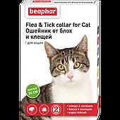 Ошейник Flea&Tick от блох и клещей для кошек, Beaphar - 35 см