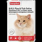 Ошейник S.O.S. Flea&Tick от блох и клещей для кошек - 35 см