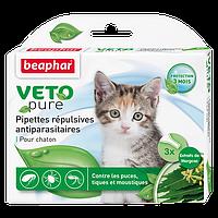 Биокапли VETO pure от паразитов для котят, Beaphar - 1 пип
