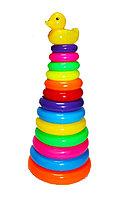 Детская игрушка Пирамидка с уточкой