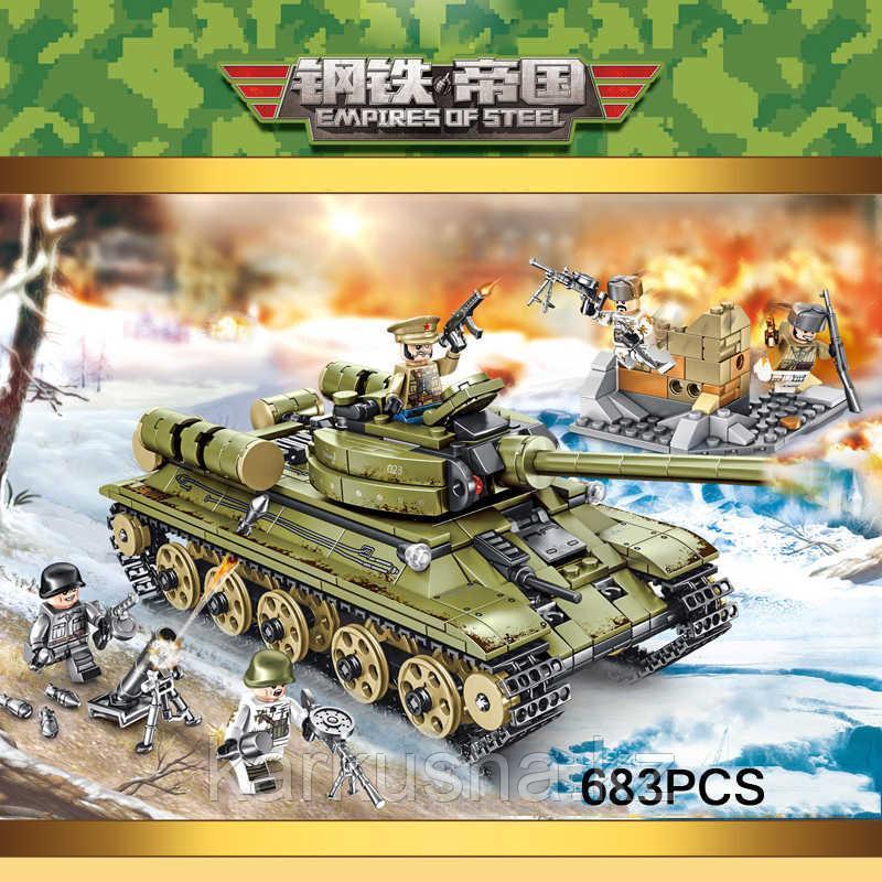 Конструктор Sembo block - танк Т-34