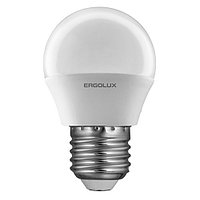 Светодиодная лампа Ergolux LED-G45-7W-E27-3K (тёплый свет)
