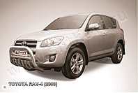 Кенгурятник d76 низкий с защитой картера Toyota RAV4 2008-10