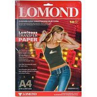 Термоперенос A4 флюресц.10л L0808431 (струйная печать) Lomond (в кор.27 пачек)