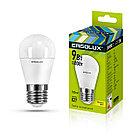 Светодиодная лампа Ergolux G45/3000K/E27/9Вт (тёплый)