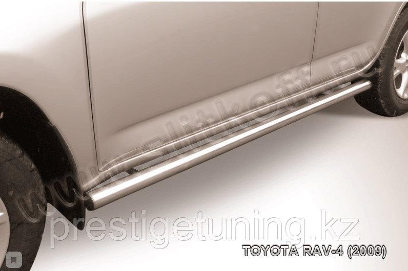 Защита порогов d57 труба RAV4 2008-10