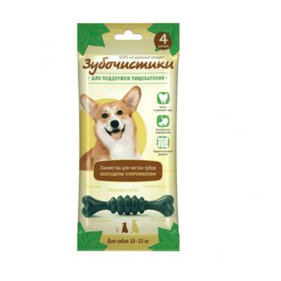 Зубочистики мятные для собак средних пород - 4 шт