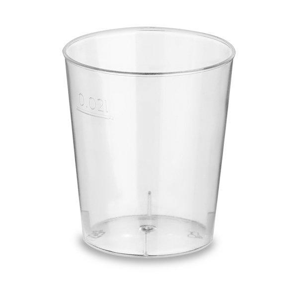 Форма фуршетная Стопка Кристалл, 0.02л, прозрачный, 30 упаковок в коробке, 20 шт