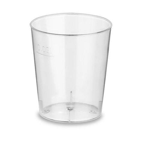 Форма фуршетная Стопка Кристалл, 0.02л, прозрачный, 30 упаковок в коробке, 20 шт, фото 2