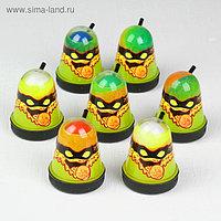 Лизун Slime Ninja, 2 в 1 «Смешивай цвета», жёлтый и красный, 130 г