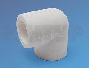 Угольник для полипролиленовых труб, отвод D20/90гр. PPR Контур