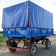 Прицеп самосвальный тракторный 2ПТС-4,5 с тентом
