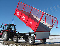 Прицеп самосвальный тракторный 2ПТС-6,5, фото 1