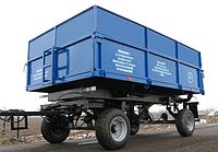 Прицеп самосвальный тракторный 2ПТС-6,5 с цельнометаллическими надставными бортами