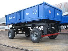 Прицеп самосвальный тракторный 2ПТС-6,5 для перевозки щебня и песка