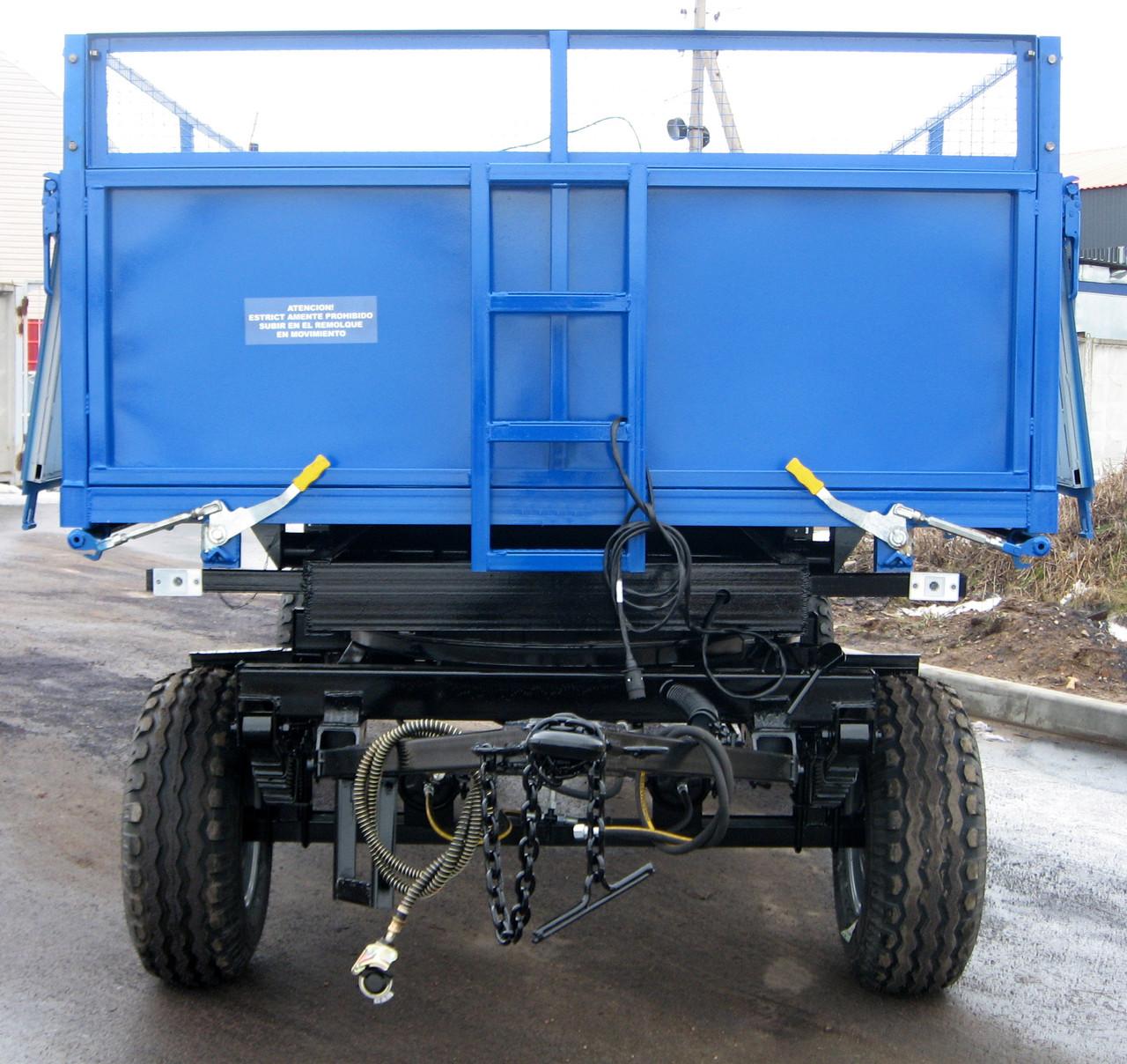 Прицеп самосвальный тракторный 2ПТС-6,5 для перевозки зерновых культур