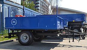 Полуприцеп самосвальный тракторный 1ПТС-2