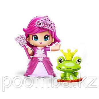 Кукла Пинипон - Принцесса в розовом платье с питомцем