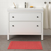 АЛЬСТЕРН Коврик для ванной, светло-красный, фото 1