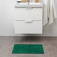 ВИННФАР Коврик для ванной, темно-зеленый