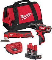 Набор инструментов Milwaukee M12 ВPP2D-402В