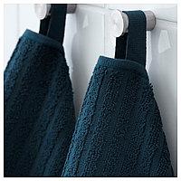 ВОГШЁН полотенце банное синее, фото 1