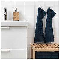 ВОГШЁН полотенце маленькое синее 2 шт, фото 1