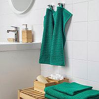 ВОГШЁН Полотенце, темно-зеленый, фото 1