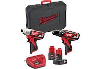 Набор инструментов Milwaukee M12 ВPP2В-421С