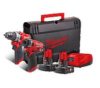 Набор инструментов Milwaukee M12 FPP2A-602X