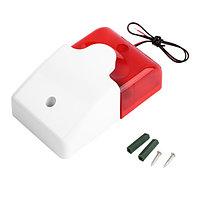 LD96 red Сирена сигнальная со стробом /гарантия - 1 мес/