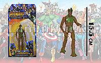 Фигурка героя шарнирная Грут (Groot)