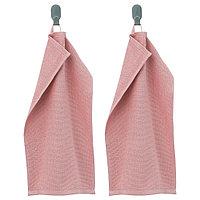 КОРНАН Полотенце, розовый, 30x50 см, фото 1