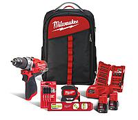 Набор инструментов Milwaukee M12 FPD-202BA