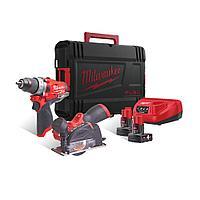 Набор инструментов Milwaukee M12FPP2F-402X M12 FUEL POWERPACK IN2