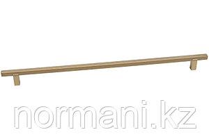 Ручка-скоба 320мм, отделка золото матовое