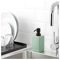 РИННИГ Дозатор для жидкого мыла, зеленый, фото 1
