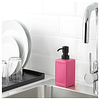 РИННИГ Дозатор для жидкого мыла, розовый, фото 1