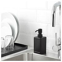 РИННИГ Дозатор для жидкого мыла, серый, фото 1