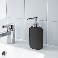 ЭКОЛЬН Дозатор для жидкого мыла, темно-серый, фото 1