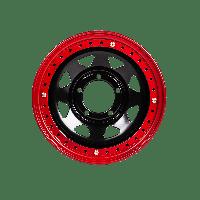 Диск стальной с бэдлоком ORW УАЗ 15x7 5x139.7 d110 ET0 черный №104, фото 1