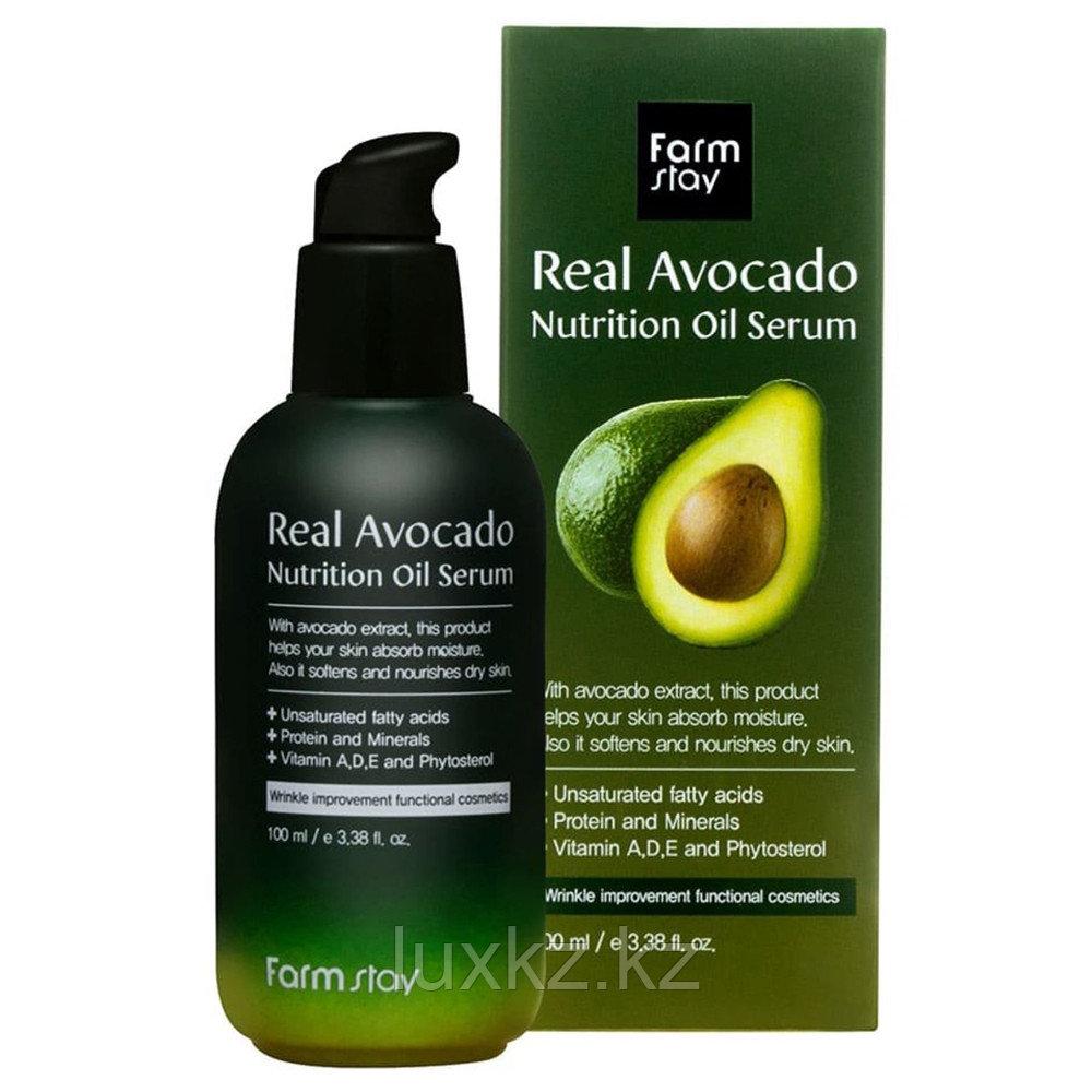 Питательная сыворотка с авокадо от FarmStay Real Avocado Nutrition Oil Serum