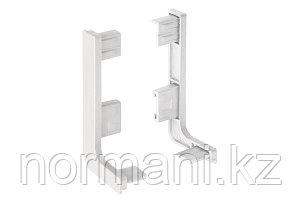 Gola Комплект открытых заглушек для профиля 8006, цвет белый