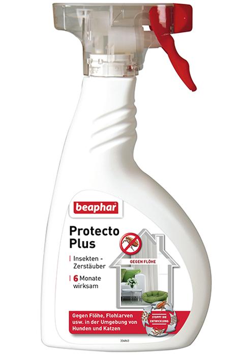 Антипаразитный спрей Protecto Plus для обработки помещений, Beaphar - 400 мл