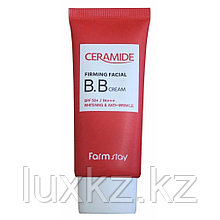 Увлажняющий ББ крем с керамидами от FarmStay Ceramide Firming Facial BB Cream SPF 50+/PA+++