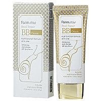 Восстанавливающий ББ крем с муцином улитки Snail Repair BB Cream SPF50+ PA+++