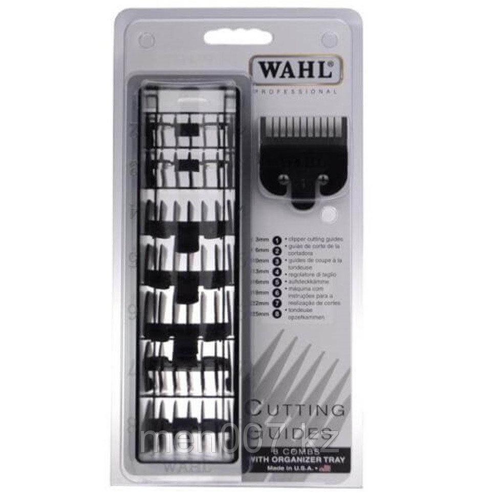 Набор пластиковых насадок для машинок Wahl, 8 шт